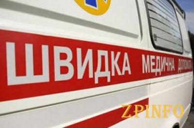 В Запорожье иномарка  сбила девушку