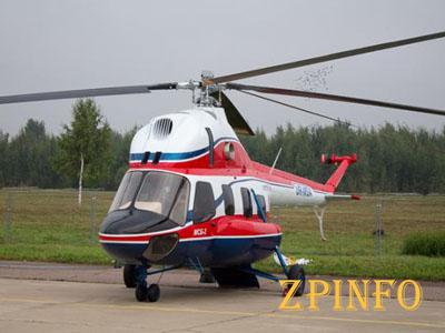 В Запорожье испытали новый вертолет