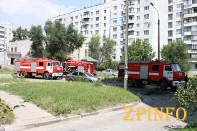 В Запорожье из-за пожара пострадало трое детей