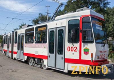 В Запорожье изменят движение трамваев