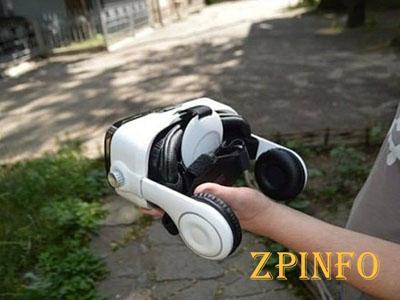В Запорожье изобретатель создал собственный шлем виртуальной реальности