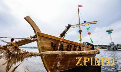 В Запорожье казацкая «Чайка» нелегально катала пассажиров