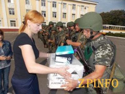 В Запорожье каждый третий житель города помогает Украинской армии