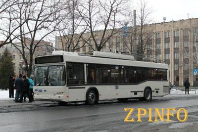 В Запорожье может появиться троллейбус на Бабурку
