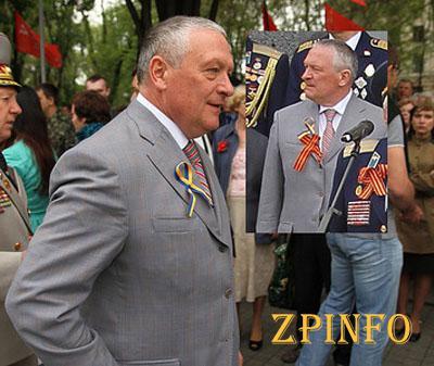 В Запорожье на 9 Мая Богуслаев не носил мак и жаловался на отсутствие флагов