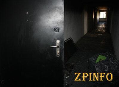 В Запорожье на Бабурке горела многоэтажка