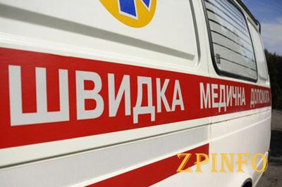 В Запорожье на остановке маршрутка сбила ребенка