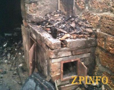 В Запорожье на пожаре погиб 63-летний мужчина