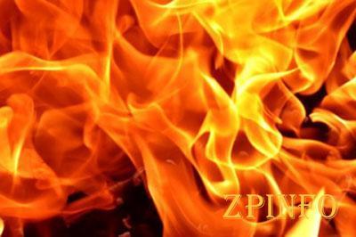 В Запорожье на пожаре погибла женщина