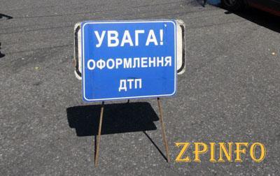 В Запорожье на Воронежской авто влетело в столб