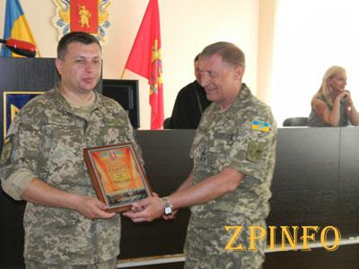 В Запорожье наградят военнослужащих