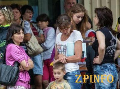 Официально: в Запорожье находятся более 38 тыс. беженцев