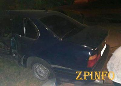В Запорожье нетрезвый виновник ДТП пытался сбежать от полиции