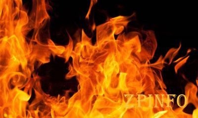В Запорожье ночью произошел пожар