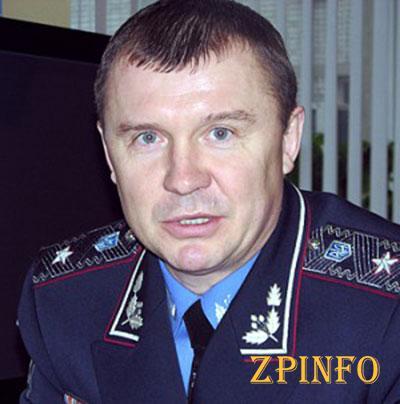 В запорожье новый начальник Главного управления МВД