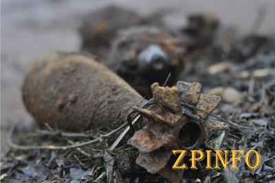 В Запорожье обнаружили мины времен ВОВ