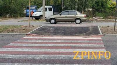 В Запорожье обустроили новые тротуары
