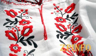 В Запорожье открылась выставка ко Дню вышиванки
