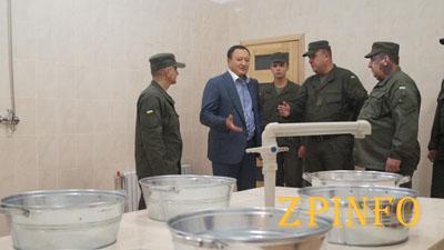 В Запорожье открыли баню для АТОшников