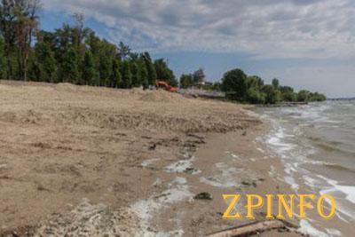В Запорожье отремонтируют пляж за 8 миллионов гривен
