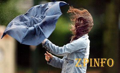 В Запорожье ожидаются сильные порывы ветра