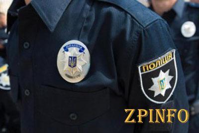 В Запорожье патрульные оштрафовали полицейского