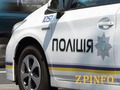 В Запорожье патрульные сбили на служебном авто пенсионерку