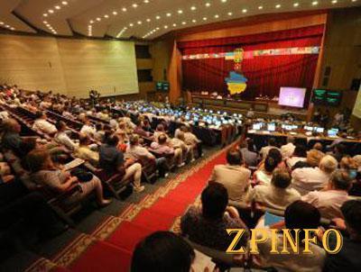 В Запорожье первая сессия облсовета продлилась не больше получаса