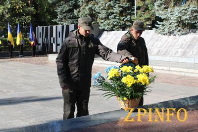 В Запорожье почтили память погибших защитников