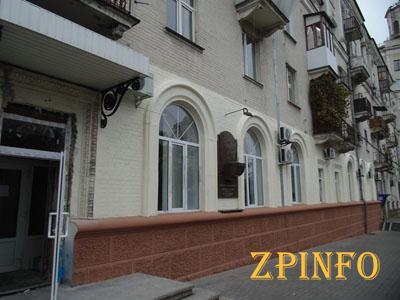В Запорожье похитили бюст Александра Поляка