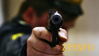 В Запорожье полицейский стрелял в пьяного мужчину