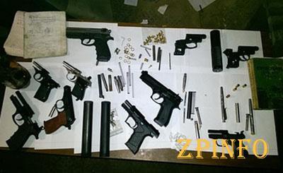 В Запорожье полиция обнаружила подпольных оружейников