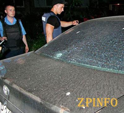 В Запорожье стрельба со взрывами на ул. Железнодорожной