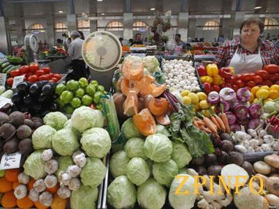 В Запорожье после праздников начали дешеветь продукты