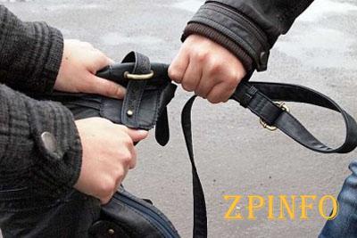 В Запорожье посреди улицы ограбили девушку