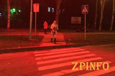 В Запорожье появилась улица красных фонарей