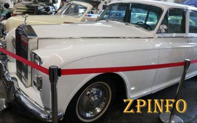 В Запорожье появился автомобиль, как у английской королевы