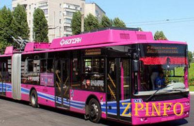 В Запорожье появятся троллейбусы-гармошки