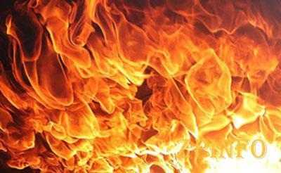 В Запорожье пожарные тушили пожар