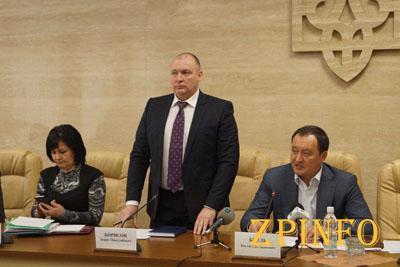 В Запорожье представили нового стажера на должность заместителя губернатора