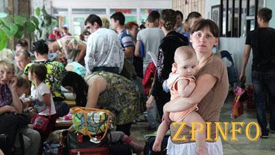В Запорожье продолжают приезжать переселенцы из Донбасса