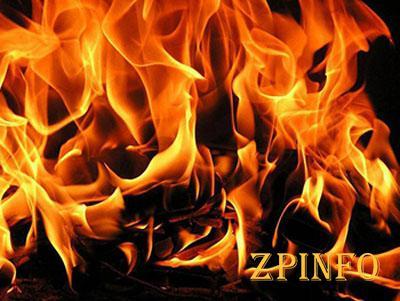 В Запорожье произошел пожар в частном секторе