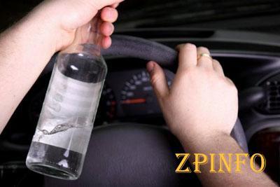 В Запорожье произошла погоня за пьяным водителем