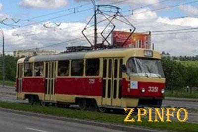 В Запорожье произошло ДТП с трамваем