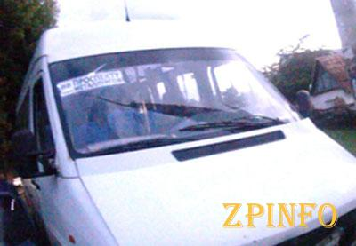 В Запорожье произошло очередное ДТП с маршруткой