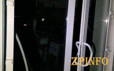 В Запорожье произошло ограбление магазина
