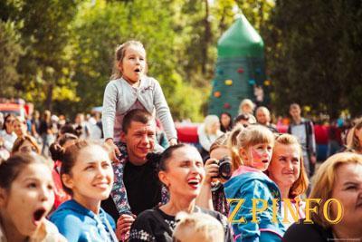 В Запорожье прошел фестиваль «Круг друзей»