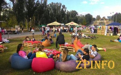 В Запорожье прошел фестиваль уличной еды