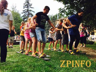 В Запорожье прошел праздник, для интеграции переселенцев с местной громадой