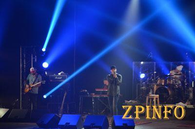 В Запорожье прошел второй концерт группы «Бумбокс»